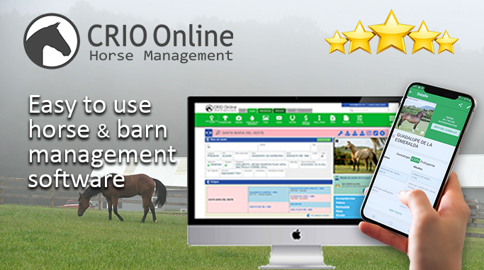 CRIO ONLINE | Equine & Barn Management Software